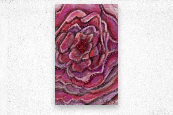 Petals  Impression metal