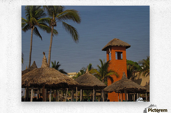 Mazatlan Resort  Metal print