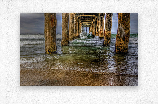 Gateway To The Sea  Metal print