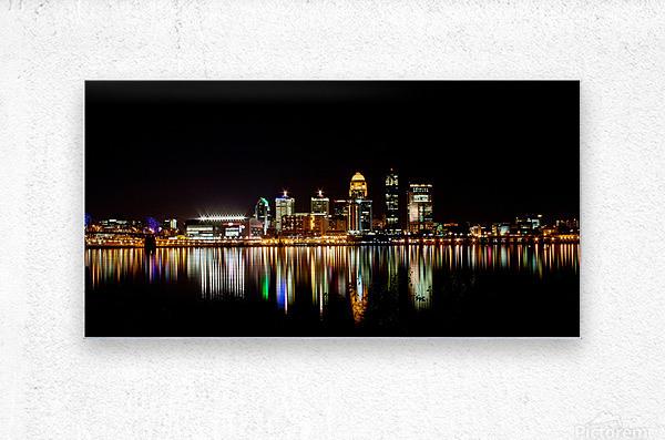 Louisville Skyline  Metal print