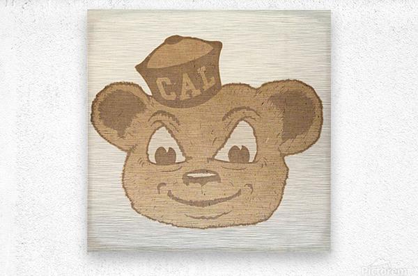 1966 Cal Bear Art | Row 1  Metal print