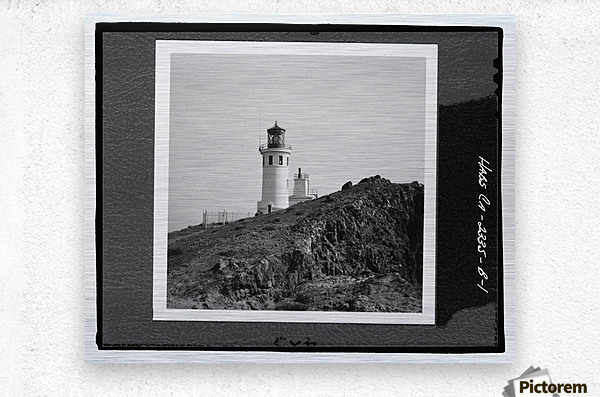 Anacapa Island Light Station, California  Metal print