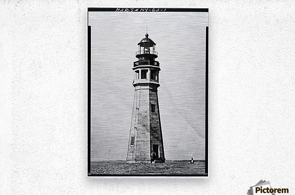 Buffalo Lighthouse, New York  Metal print