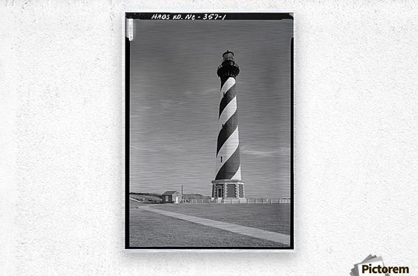 Cape Hatteras Lighthouse, North Carolina  Metal print