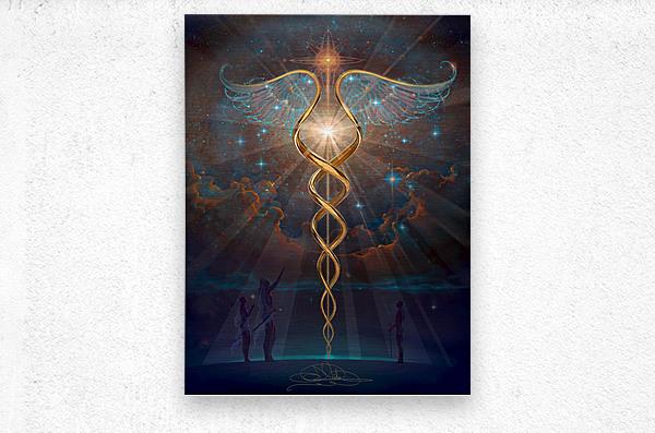Heroes of the Healing Arts  Metal print