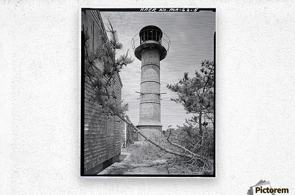 Monomoy-Point-Light-Station-2-Mass  Metal print