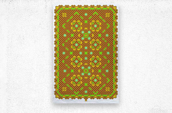 Celtic Maze 5011  Metal print