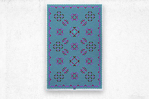 Celtic Maze 5010  Metal print
