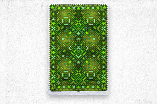 Celtic Maze 5017  Metal print