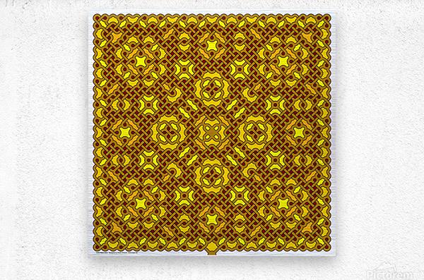 Celtic Maze 5023  Metal print