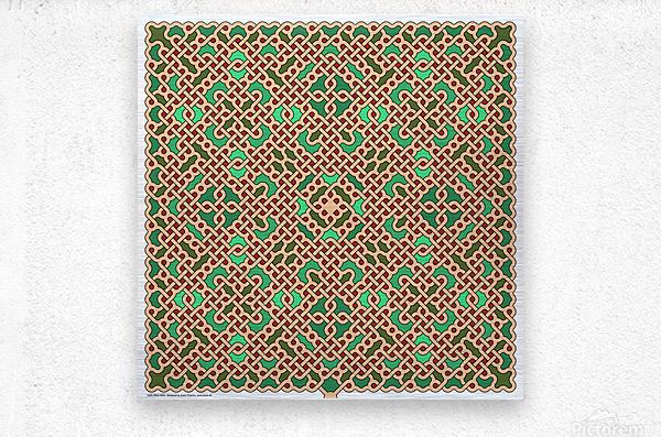 Celtic Maze 5024  Metal print