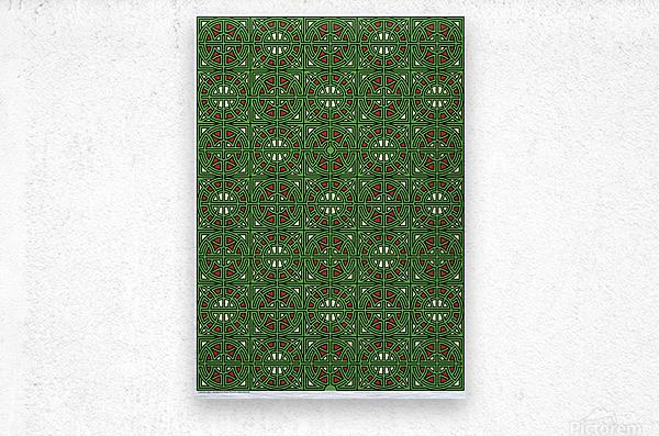 Labyrinth 3601  Metal print