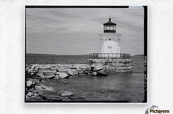 Portland-Breakwater-Lighthouse-2-Maine  Metal print