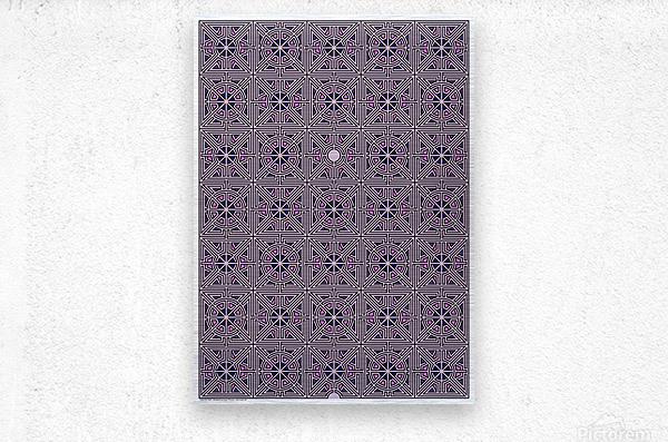 Labyrinth 4101  Metal print