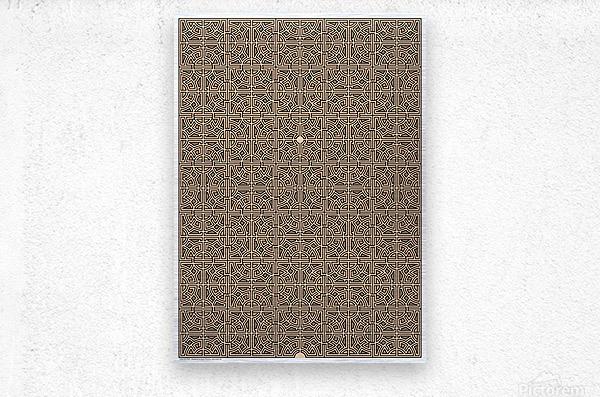 Labyrinth 4107  Metal print