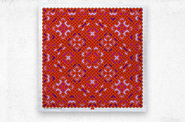 Celtic Maze 5026  Metal print