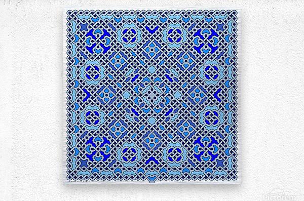 Celtic Maze 5025  Metal print