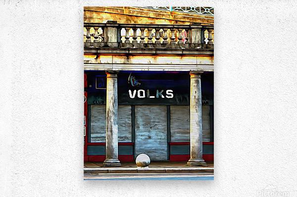 Volks Ticket Office Brighton  Metal print