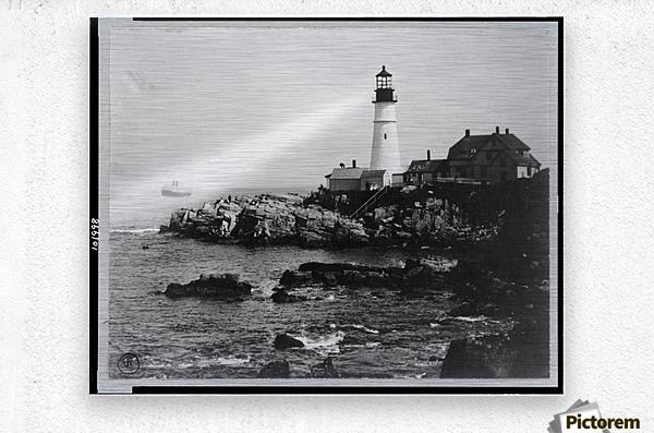 Portland-Head-Light-Portland-Maine  Metal print