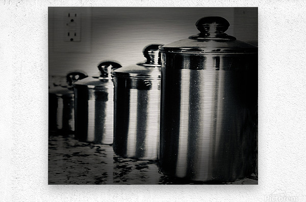 Containers  Metal print