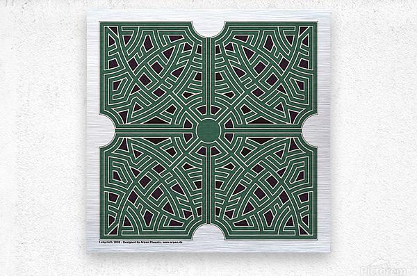 Labyrinth 1808  Metal print