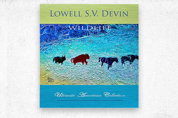 Devin Wildlife UAC Show Poster  Metal print