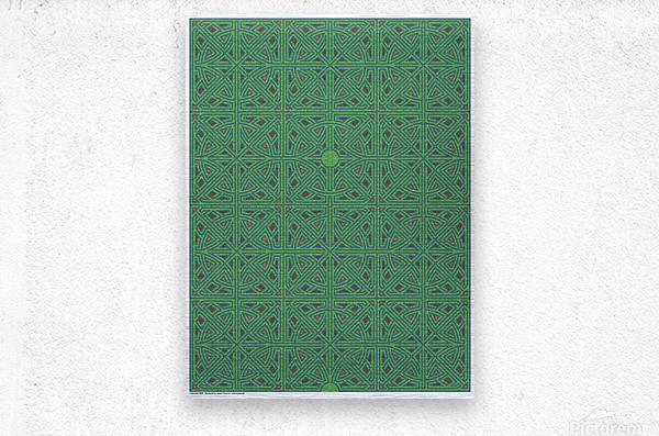 Labyrinth 3605  Metal print