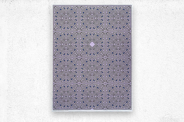 Labyrinth 3608  Metal print