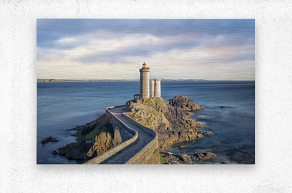 Petit Minou Lighthouse  Metal print