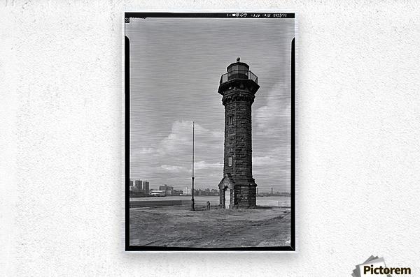 Welfare-Island-Lighthouse-NY  Metal print