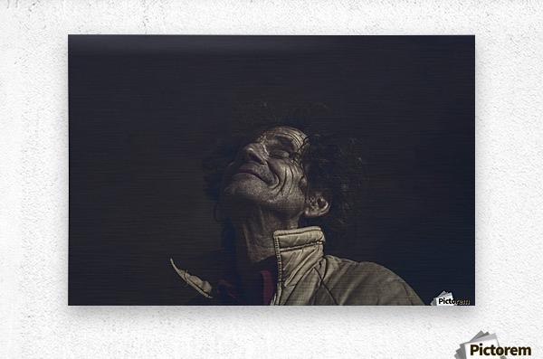 Gadafi  Metal print