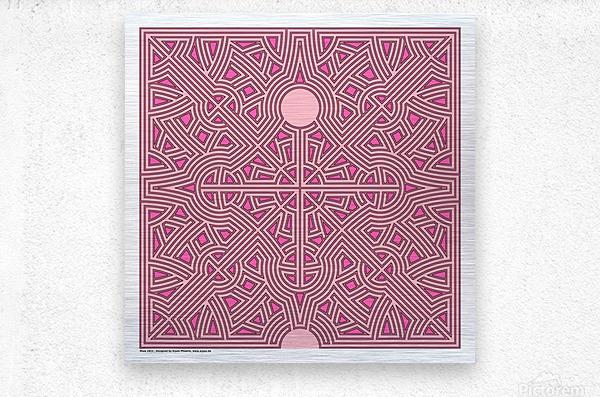 Maze 2823  Metal print