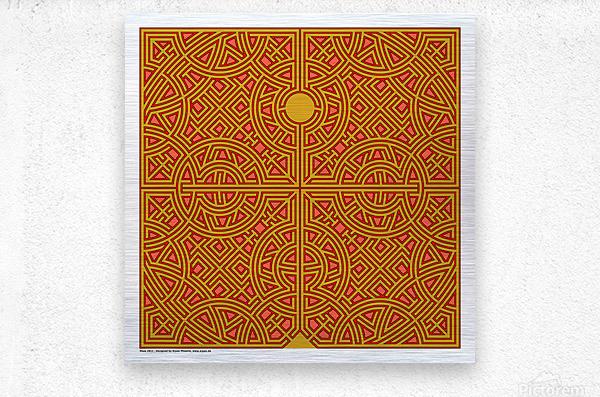 Maze 2811  Metal print