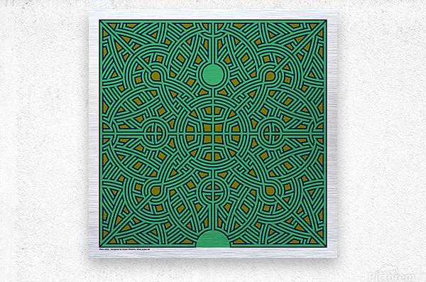 Maze 2854  Metal print