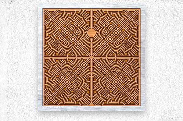 Maze 2830  Metal print