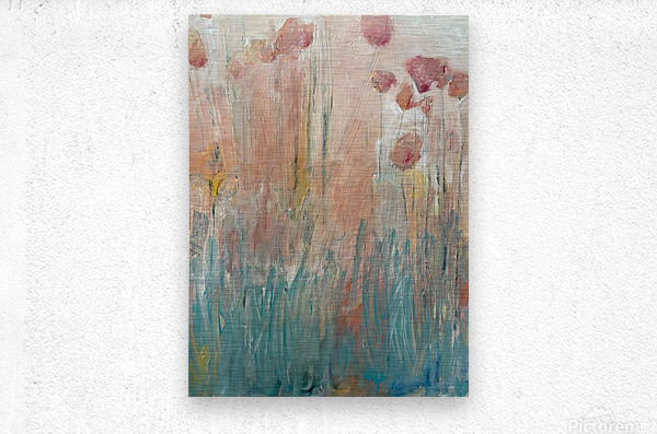 The Garden by Happiness Hill  Metal print