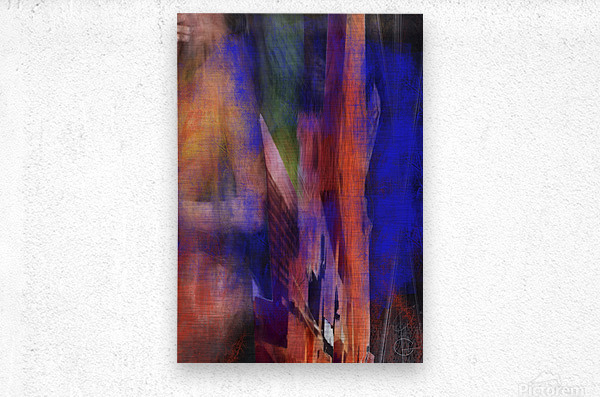 Introduction of a Model  Metal print