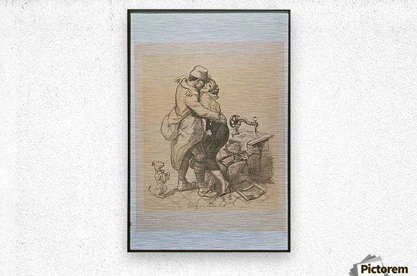 Vintage---French-Poster-3  Metal print
