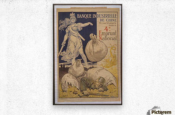 Vintage---German-Defeat  Metal print