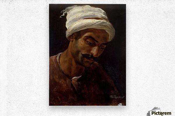 Head of an Arab  Metal print
