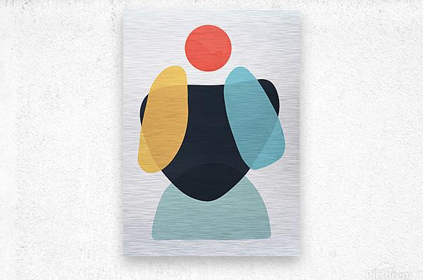 Abstraction C  Metal print