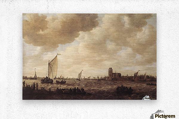 View of Dordrecht  Metal print