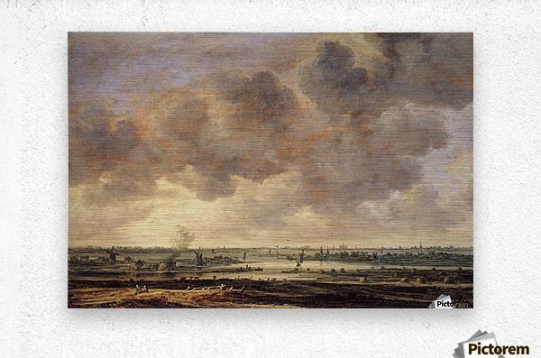 View of the Haarlemmermeer  Metal print