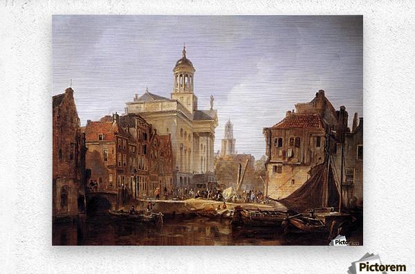 View On Utrecht Sun  Metal print