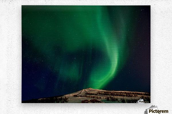 Aurora swirl  Metal print