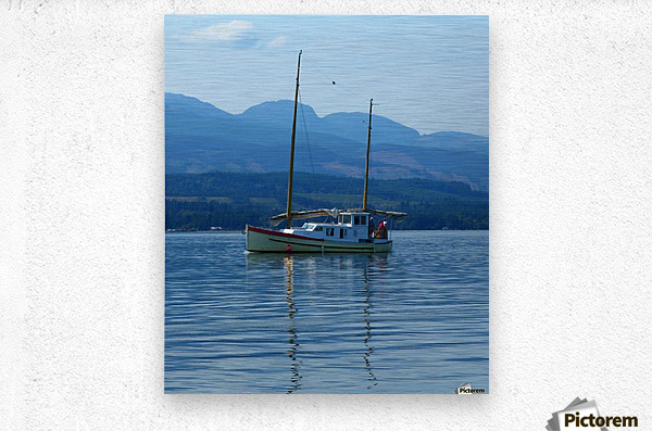 A Perfect Summer Day  Metal print