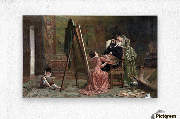 Ars Longa, Vita Brevis 1877  Metal print