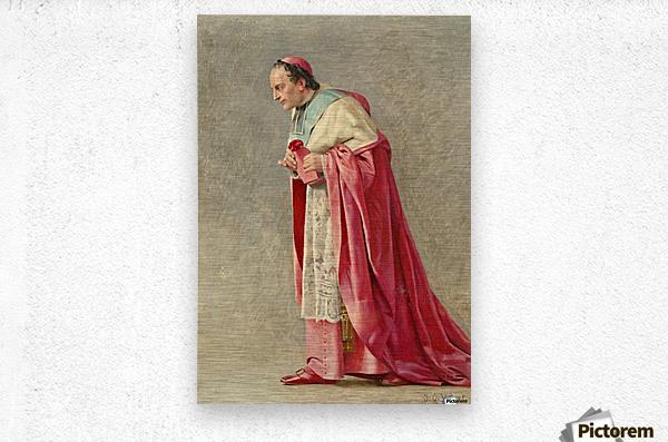 The cardinal  Metal print