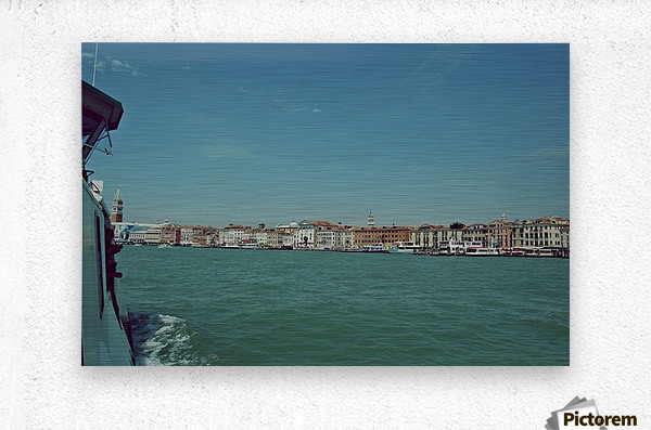 Venice on the see  Metal print