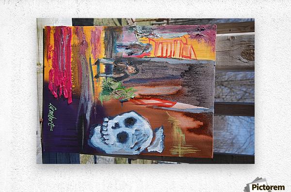 Death row  Metal print